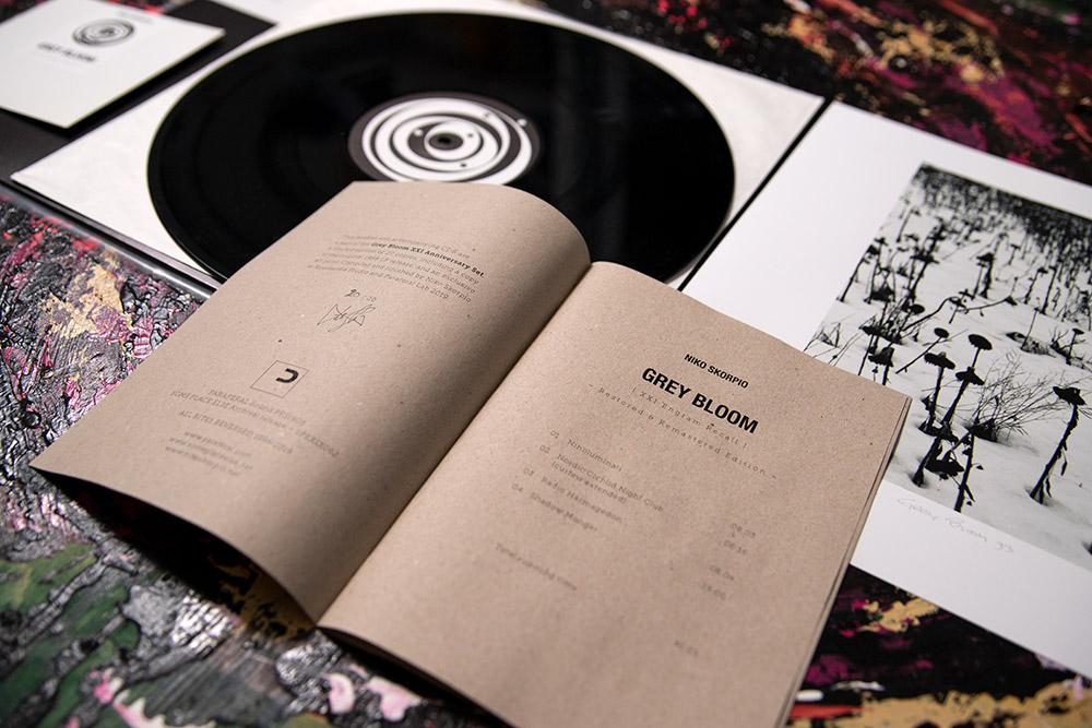 Grey Bloom XXI Anniversary Set – Niko Skorpio